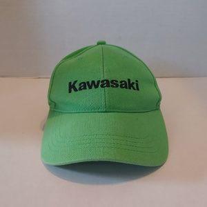 Green Kawasaki snapback